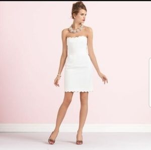 Kate Spade White Wedding Belles Dress
